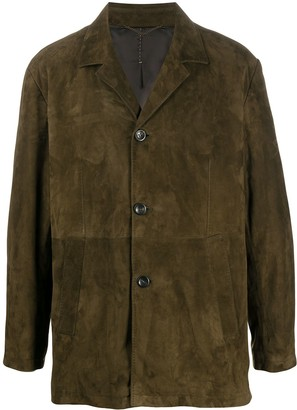 Ajmone Suede Shirt Jacket