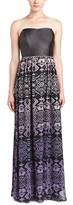 Gypsy 05 Corset-bodice Silk Maxi Dress.