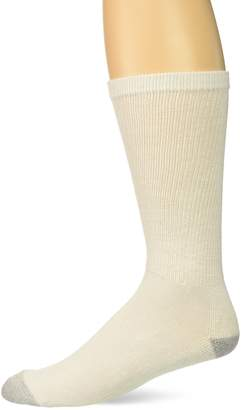 Hanes Ultimate Men's 10-Pack FreshIQ Big & Tall Crew Socks