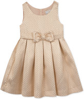 Rare Editions Rose Gold Jacquard Dress, Toddler & Little Girls (2T-6X)