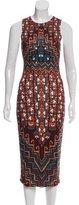 Mara Hoffman Abstract Printed Midi Dress
