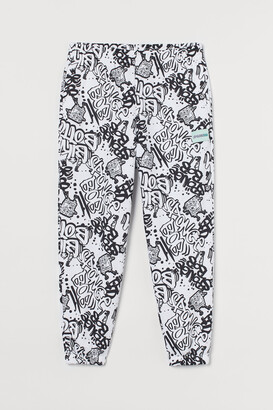 H&M H&M+ Patterned Joggers