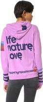 Freecity Life Nature Love Sherpa Zip Up Hoodie