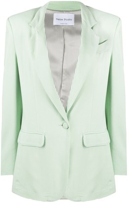 Hebe Studio Classic Tailored Blazer