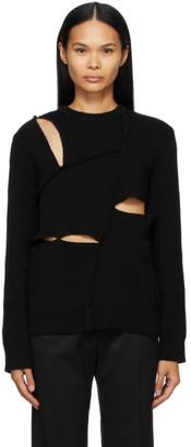 Comme des Garçons Shirt Black Multi Slit Sweater