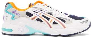 Asics Gel Kayano 5 Og Leather Trainers - Mens - Blue Multi