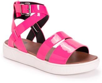 Muk Luks Platform Ankle-Strap Sandals - Mariposa