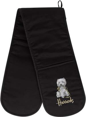 Harrods Westie Double Oven Gloves
