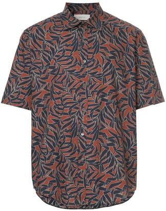 Cerruti Leaf Print Shirt