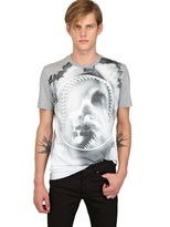 Givenchy Cuban Fit Printed Jersey T-Shirt