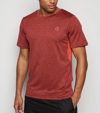 New Look GymPro Mesh Panel T-Shirt
