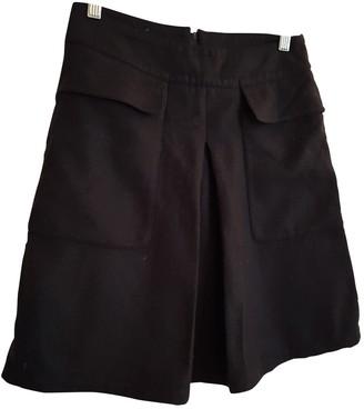 Sessun Black Wool Skirt for Women