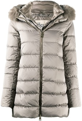 Herno Fur-Hood Padded Coat