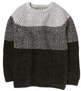 Crazy 8 Little Boys' Long Sleeve Raglan Ombre Sweater