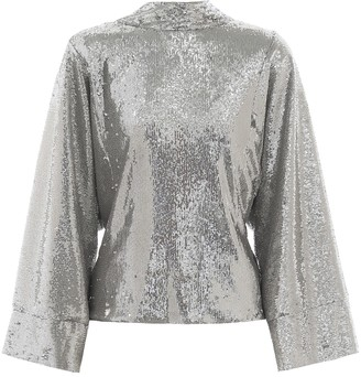 BERNADETTE Norma sequined top