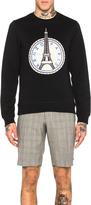 Kenzo Eiffel Badge Sweatshirt