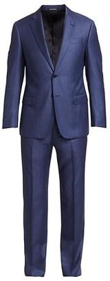 Emporio Armani Sharkskin Suit