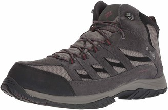 Columbia Men's Crestwood Mid Waterproof Hiking Boot Breathable High-Traction Grip 11 Regular US