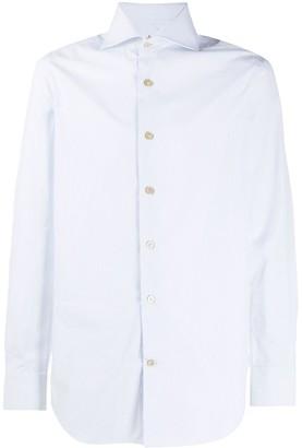 Kiton Pinstripe Cotton Shirt