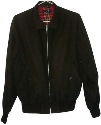 Fred Perry Black Cotton Jacket for Women