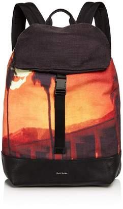 Paul Smith Men's Pauls Sunset Photo Print Backpack