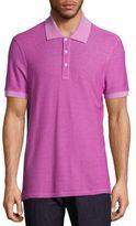Salvatore Ferragamo Garment Dyed Polo