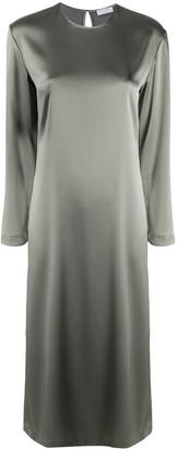 Deveaux Belted Midi Dress