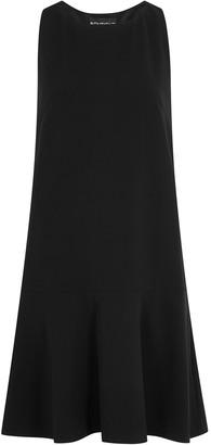 Boutique Moschino Black bow-embellished mini dress