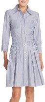 Eliza J Women's Stripe Cotton Shirtdress
