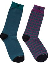 Scotch & Soda 2-Pack Jacquard Socks