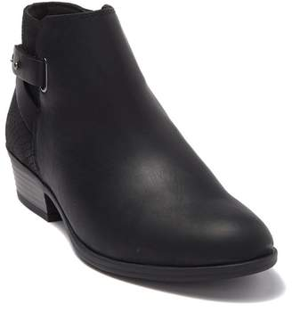 Clarks Addiy Gladys Snake-Embossed Leather Ankle Boot