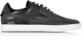 DSQUARED2 Tux Black Leather Sneaker