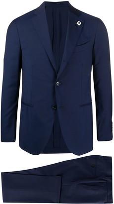 Lardini Supersoft slim-fit two-piece suit