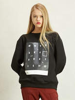 Wardrobe Hidden Logo Sweatshirt_woman_black