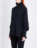 Y-3 Y3 Funnel-neck cotton-jersey jacket