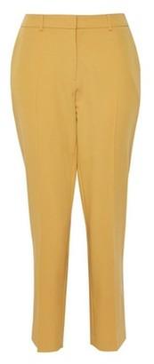 Dorothy Perkins Womens Ochre Ankle Grazer Trousers