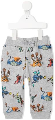 Stella McCartney dragon-print track trousers