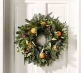 Pottery Barn Live Holiday Citrus Wreath