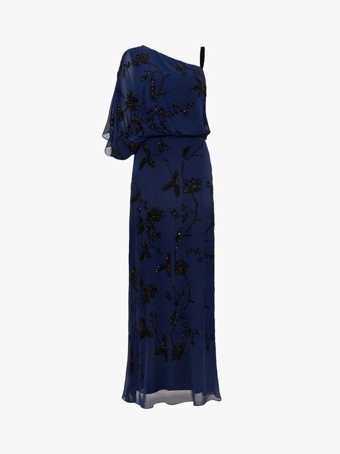 Thumbnail for your product : Phase Eight Shirley Embellished Dress, Sapphire