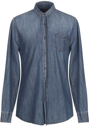 TRUSSARDI JEANS Denim shirts