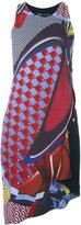 Versace asymmetric dress - women - Silk/Acetate/Viscose - 38