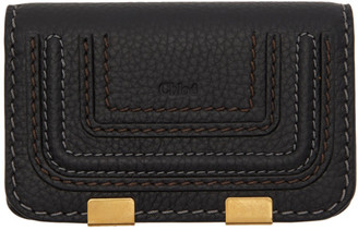 Chloé Black Small Marcie Wallet