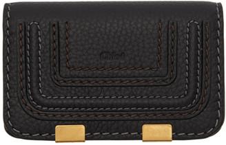 Chloé Black Small Marcie Wallet