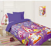 Fun At The Fair Blue Glow in the Dark Quilt Cover Set