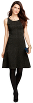 Brooks Brothers Jacquard Sleeveless Dress