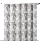 Liz Claiborne Speckle Leaf Shower Curtain