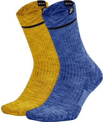 Nike Men's 2-pack Sneaker Sox Essential Crew Socks