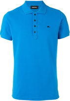 Diesel logo pin polo shirt - men - Cotton/Spandex/Elastane - XL