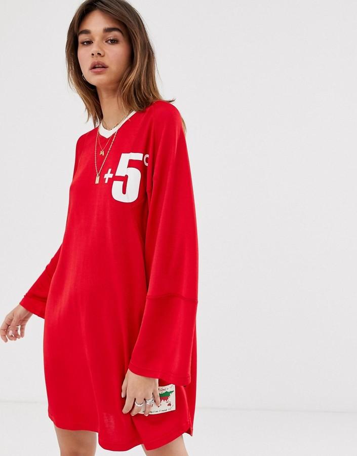 Vivienne Westwood oversized jersey dress