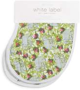 Aden and Anais White Label Infant Girls' Paradise Code Burpy Bibs, 2 Pack